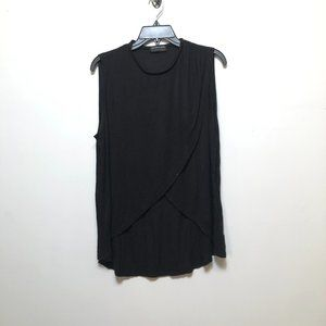 The Fifth Label Crossover Sleeveless Tee Black